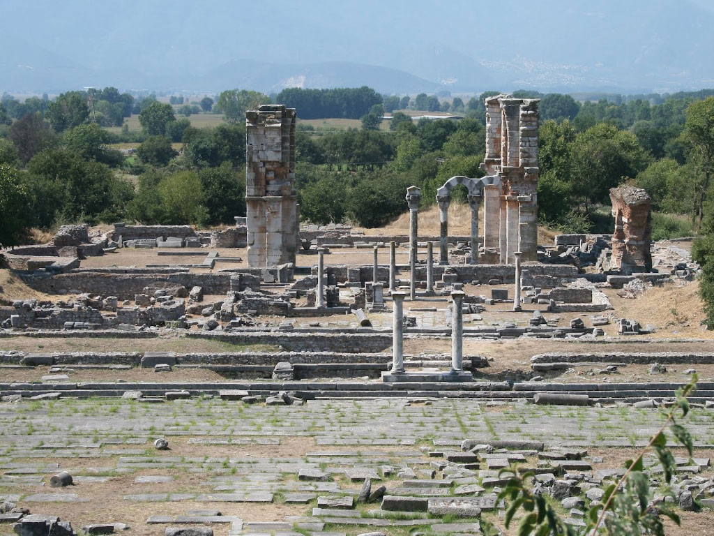 Ancient city of Philippi